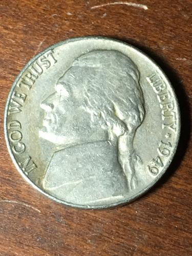 1949 Jefferson Nickel Item 0419072