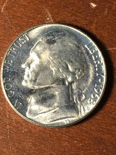 1968 D Jefferson Nickel Item 0419083