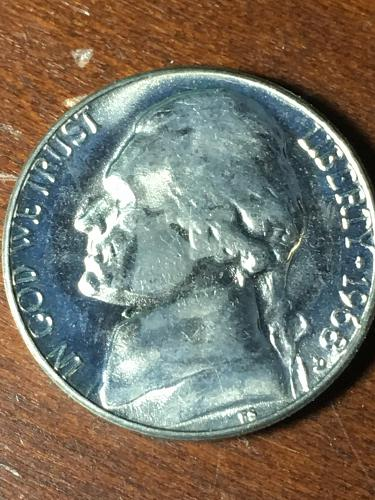 1968 D Jefferson Nickel Item 0419084