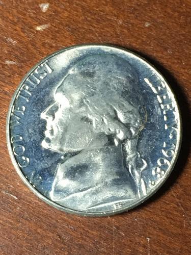 1968 D Jefferson Nickel Item 0419085