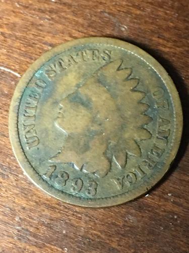 1893 Indian Head Cent item 0419102