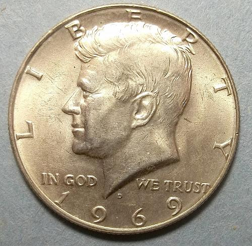 1969D Kennedy Half Dollar Lot JKHMw