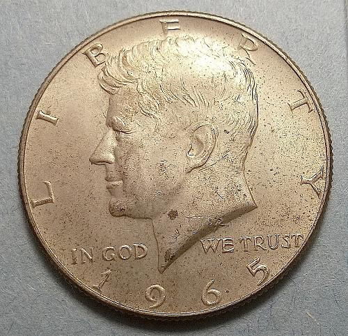 1965P Kennedy Half Dollar Lot JKHdR