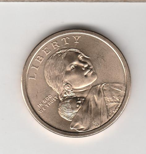 2009 D Sacagawea Dollars: Spread of Three Sisters Agriculture - #2