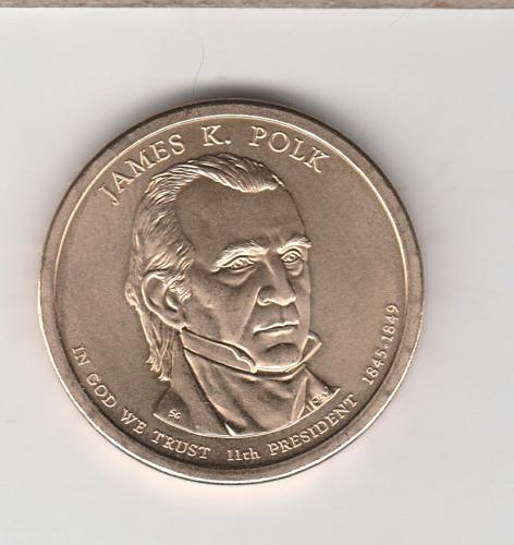 2009 P Presidential Dollars: James K. Polk - #2