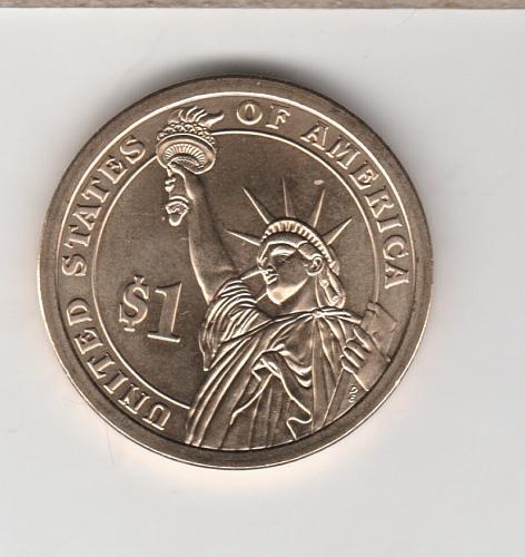 2009 D Presidential Dollars: William Henry Harrison - #2