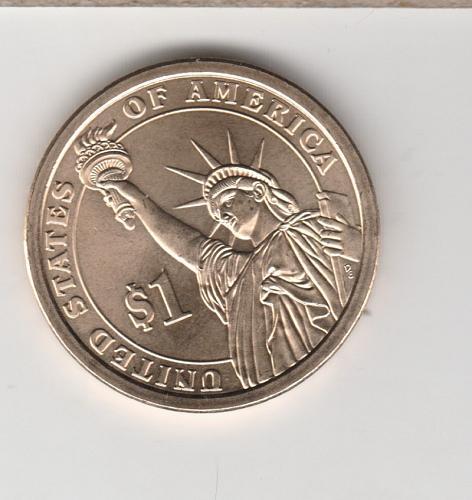 2009 D Presidential Dollars: John Tyler - #2