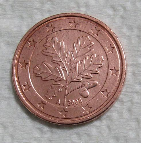 2005-A Germany 5 Euro Cents