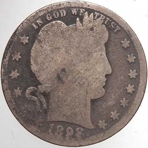 1898 P Barber Quarter#2