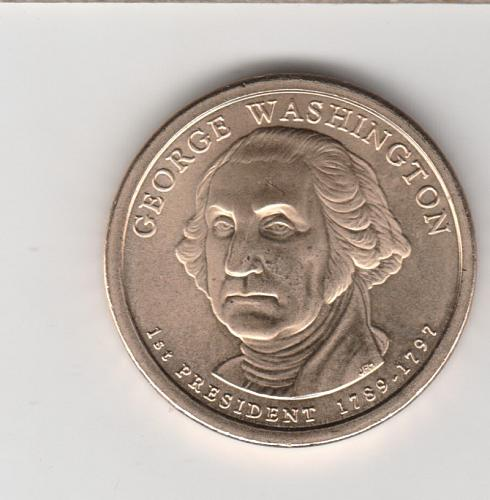 2007 P Presidential Dollars: George Washington - #3