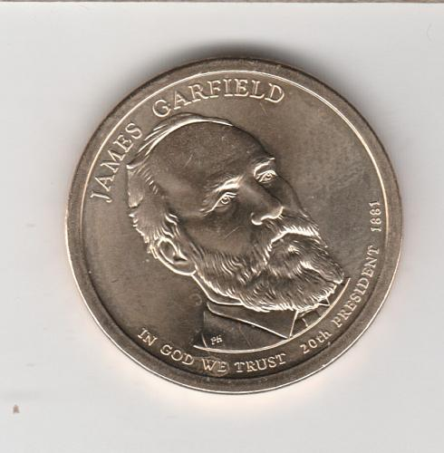 2011 P Presidential Dollars: James A. Garfield - #3