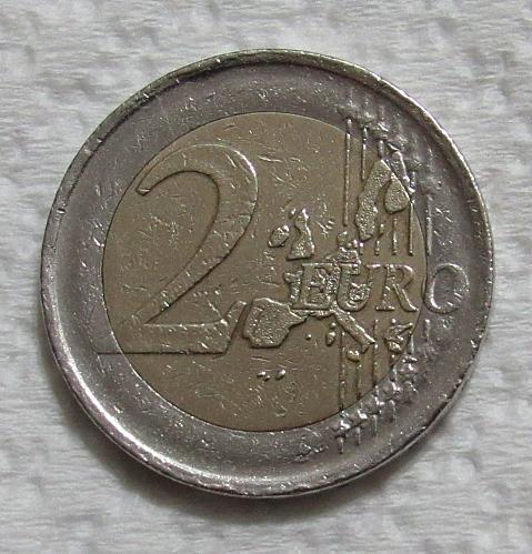 2000 Spain 2 Euro