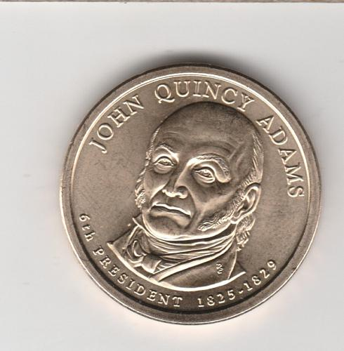 2008 D Presidential Dollars: John Quincy Adams - #3