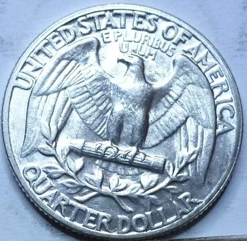 1954-P UNCIRCULATED Washington Quarter UNC ( T-710)