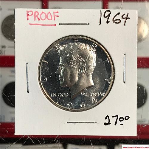 1964 Kennedy Half Dollar Proof