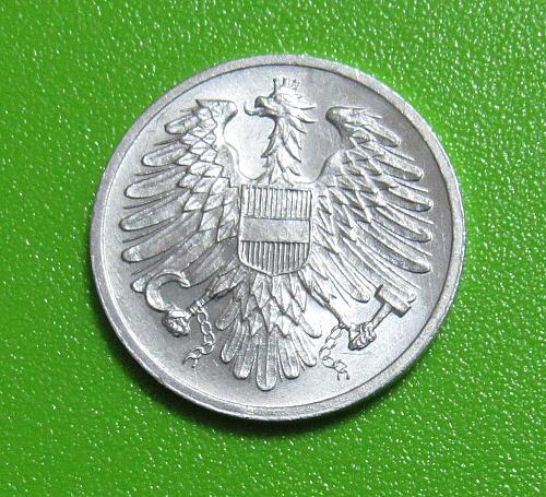1954 Austria 2 Groschen - Uncirculated
