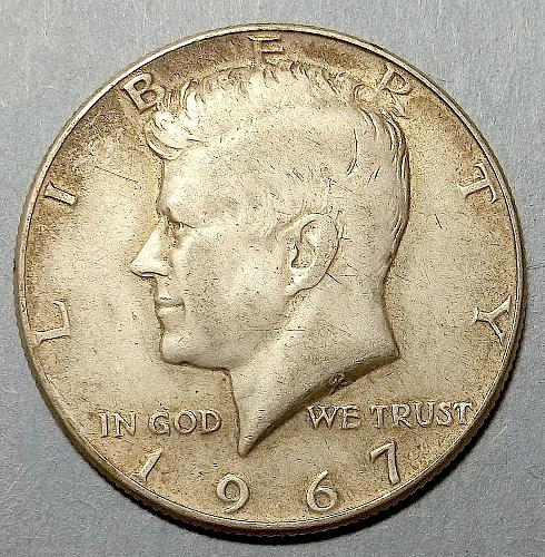 1967 P Kennedy Half Dollar Lot JKHJB