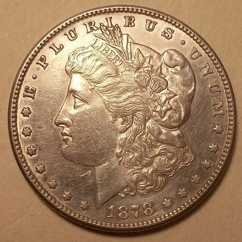 1878 S Morgan Dollar Lot JUMSDaa