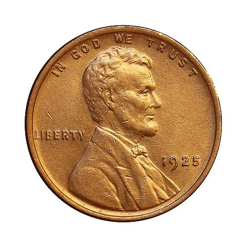1925 P Lincoln Wheat Cent - Choice BU / MS / UNC