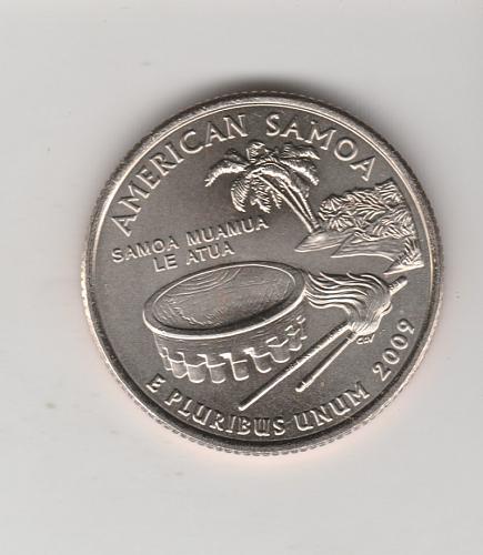 2009 D American Samoa 50 States and Territories Quarters - #2