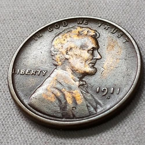 1911 S Lincoln Wheat Cent ~ VF