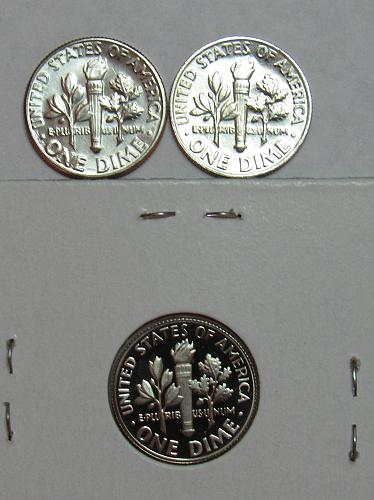1979 P,D&S Roosevelt Dimes in BU and Proof condition