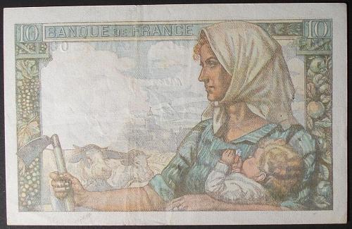 France P99f 10 Francs VF