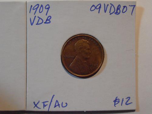 1909 P VDB Lincoln Cent (09VDB07)