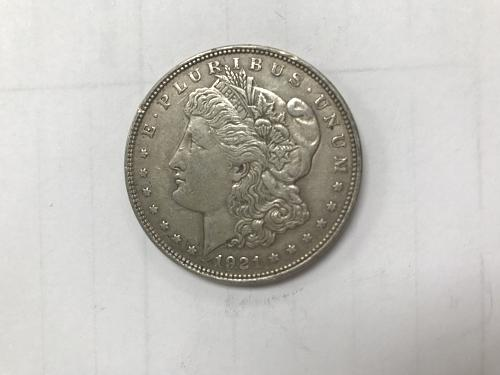 1921 P MORGAN DOLLARS