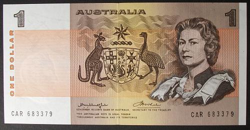 Australia P42b1 Dollar UNC64