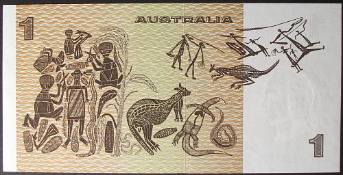 Australia P42b1 Dollar AU