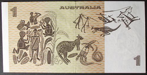 Australia P42a Dollar VF