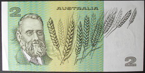 Australia P43d 2 Dollars AU