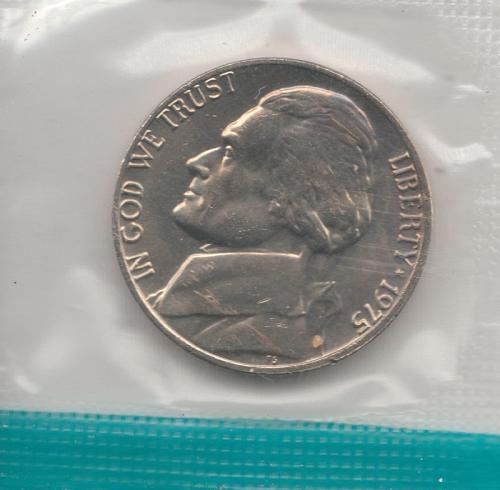 1975 P Jefferson Nickels - #3