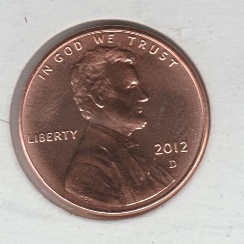 2012 D Lincoln Shield Cent Small Cents - #2