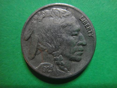 1929-S Buffalo Nickel Very Fine-30 Very Close to XF with 3/4 Horn!