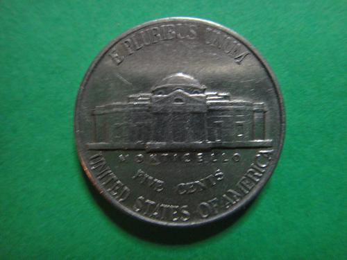 1939 TYPE 1 Jefferson Nickel Almost Uncirculated-50