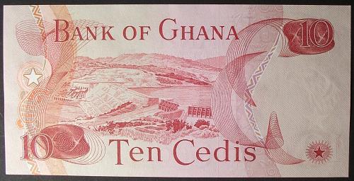 Ghana P16e 10 Cedis UNC63