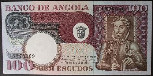 Angola P106 100 Escudos UNC60