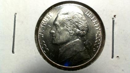 2000-D Jefferson Nickel