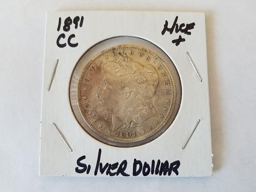 1891 CC Morgan Dollar
