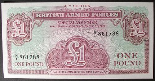 Great Britain M36a Pound UNC64