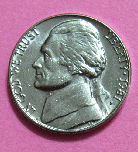 1981-P 5 Cents - Jefferson Nickel - Uncirculated