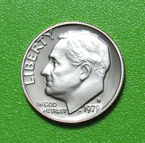 1979-S 10 Cents Roosevelt Dime - Proof