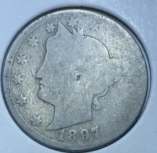 Here is a 1897 Liberty Nickel (3132)