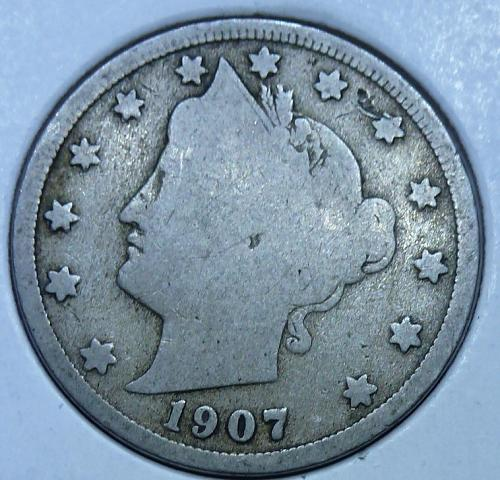 Here is a 1906 Liberty Nickel (5051)