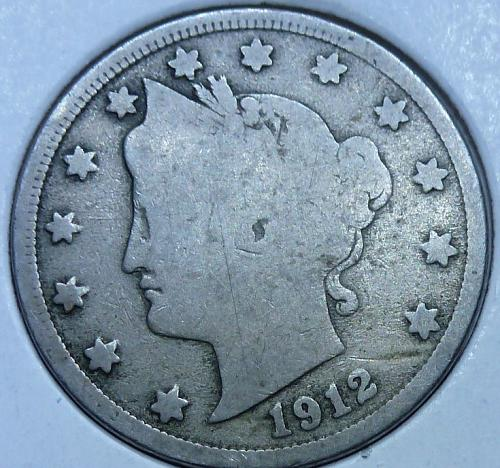 Here is a 1912 Liberty Nickel (6263)