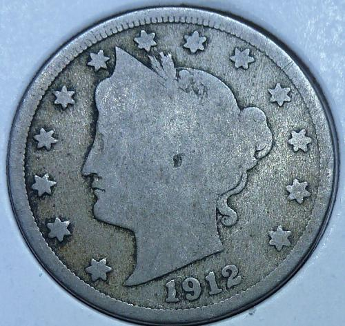 Here is a 1912-D Liberty Nickel 6465
