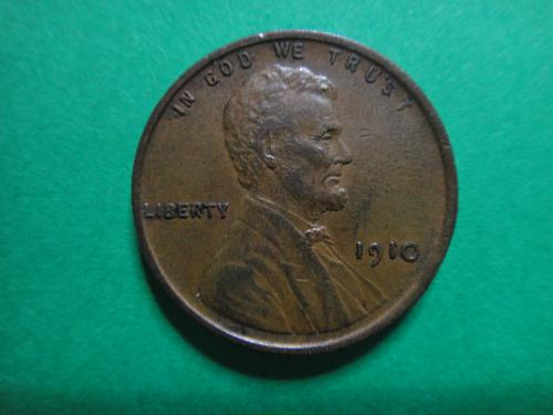 1910 Lincoln Cent Extra Fine-40