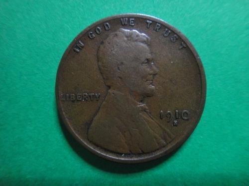 1910-S Lincoln Cent Fine-12